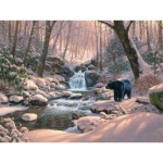 Puzzle  Cobble-Hill-52113 XXL Pieces - Mark Keathley: Black Bear Brook