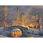 Puzzle  Cobble-Hill-52114 XXL Pieces - Mark Keathley: Winter in the Park