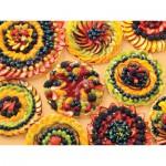 Puzzle  Cobble-Hill-54327 XXL Jigsaw Pieces - Peachy Keen