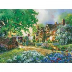 Puzzle  Cobble-Hill-54332 XXL Jigsaw Pieces - Douglas Laird - Old Coach Inn