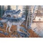 Puzzle  Cobble-Hill-54338 XXL Jigsaw Pieces - Jim Kasper : Silent Travelers