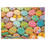 Puzzle  Cobble-Hill-54600 XXL Pieces - Family - Easter Cookies
