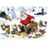 Puzzle  Cobble-Hill-54605 XXL Pieces - Family - Santa Claus and Friends
