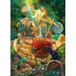 Puzzle  Cobble-Hill-54609 XXL Pieces - Candy Cottage