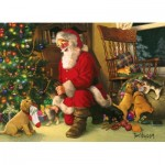 Puzzle  Cobble-Hill-54611 XXL Pieces - Santa's Lucky Stocking