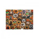 Puzzle  Cobble-Hill-54612 XXL Pieces - Halloween Cookies