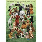 Puzzle  Cobble-Hill-54623 XXL Pieces - Puppy Love
