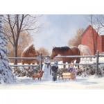Puzzle  Cobble-Hill-54627 XXL Pieces - Frosty's Friends