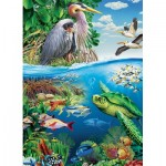 Puzzle  Cobble-Hill-54628 XXL Pieces - Earth Day