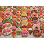 Puzzle  Cobble-Hill-54631 XXL Pieces - Sweet Treats