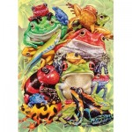 Puzzle  Cobble-Hill-54632 XXL Pieces - Frog Pile