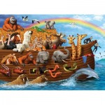 Puzzle  Cobble-Hill-54633 XXL Pieces - Voyage of the Ark