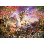 Puzzle  Cobble-Hill-54634 XXL Pieces - Realm of the Unicorn