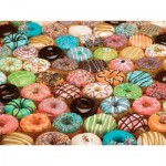 Puzzle  Cobble-Hill-57121 XXL Pieces - Doughnuts