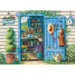 Puzzle  Cobble-Hill-57141 XXL Pieces - Welcome to My Garden