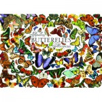 Puzzle  Cobble-Hill-57150 Butterflies