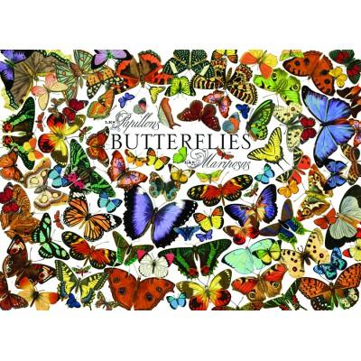 Puzzle Cobble-Hill-57150 Butterflies