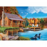Puzzle  Cobble-Hill-57154 Loon Lake