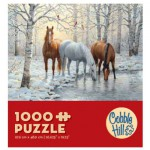 Puzzle  Cobble-Hill-57157 Horse Trio