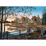 Puzzle  Cobble-Hill-57159 XXL Pieces - Away From It All