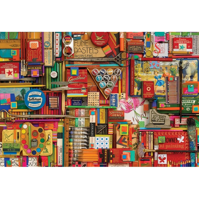 Shelley Davies - Vintage Art Supplies