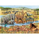 Puzzle  Cobble-Hill-58813 Out of Africa