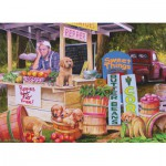 Puzzle  Cobble-Hill-58859 Puppies For Free