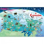 Cobble-Hill-58894 Frame Puzzle - Canada Map
