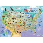 Cobble-Hill-58895 Frame Puzzle - USA Map
