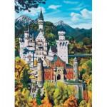 Puzzle  Cobble-Hill-70036 Neuschwanstein Castle
