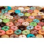 Puzzle  Cobble-Hill-80035 Doughnuts