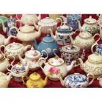Puzzle  Cobble-Hill-80036 Teapots