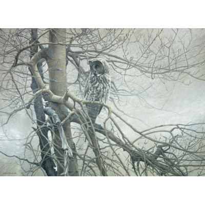 Puzzle Cobble-Hill-80037 Robert Bateman : Ghost of the North