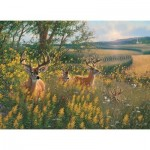 Puzzle  Cobble-Hill-80092 Summer Deer