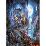 Puzzle  Cobble-Hill-80104 Dragon Forge