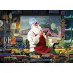 Puzzle  Cobble-Hill-80110 Santa's Hobby