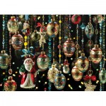Puzzle  Cobble-Hill-80140 Christmas Ornaments