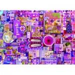 Puzzle  Cobble-Hill-80151 Purple