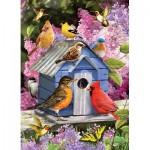 Puzzle  Cobble-Hill-80153 Spring Birdhouse