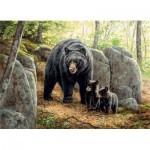 Puzzle  Cobble-Hill-80154 Mama Bear