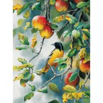 Puzzle  Cobble-Hill-80156 XXL Jigsaw Pieces - Susan Bourdet : Northern Oriole
