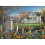 Puzzle  Cobble-Hill-80187 Evening Birds
