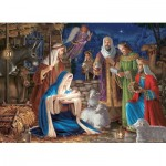 Puzzle  Cobble-Hill-80248 Miracle in Bethlehem