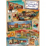Puzzle  Cobble-Hill-80318 Mid-Century Modern Dream Home