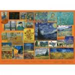 Puzzle  Cobble-Hill-80325 Van Gogh
