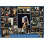 Puzzle  Cobble-Hill-80326 Vermeer