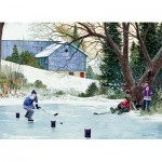 Puzzle  Cobble-Hill-85003 XXL Pieces - Hockey Drills
