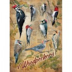 Puzzle  Cobble-Hill-85007 XXL Pieces - Notable Woodpeckers