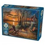 Puzzle  Cobble-Hill-85009 XXL Pieces - Fireside