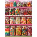 Puzzle  Cobble-Hill-85011 XXL Pieces - Candy Shelf